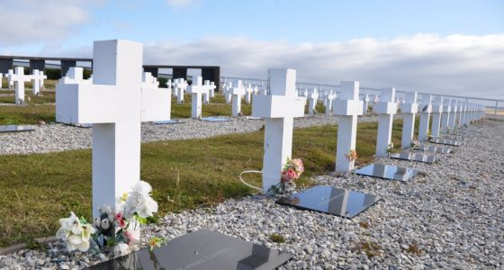 Falkland Islands Government 'continues to uphold humanitarian principles'