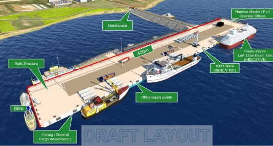 New port means 'big benefits' and enhanced safety