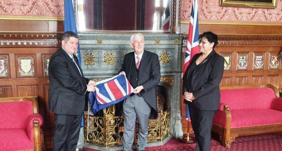Falkland Islands representatives arrive in New York for C-24